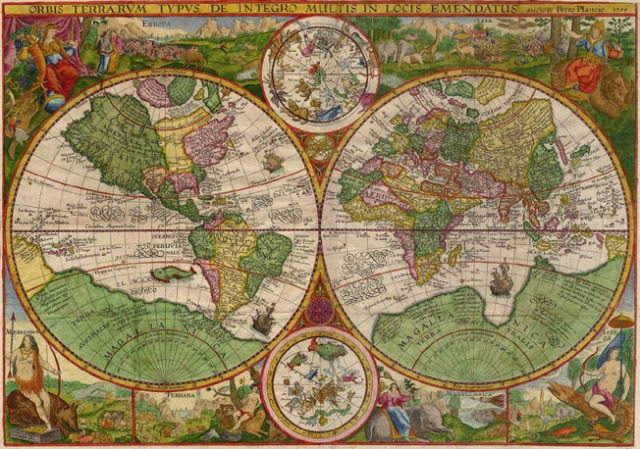 Antique_Map_Plancius_World